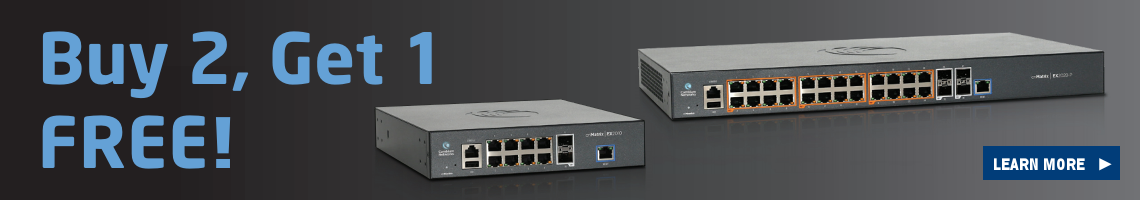 Cambium Networks Buy 2, Get 1 Free Promotion
